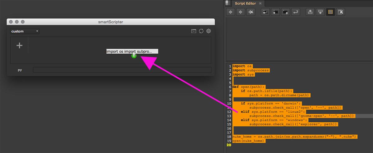 Quickstart — smartScripter 1 0 0 documentation